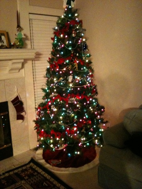Christmas Tree Decorating With Garland : Deck my halls christmas decorating the easy way