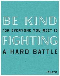 Plato Be Kind Picture